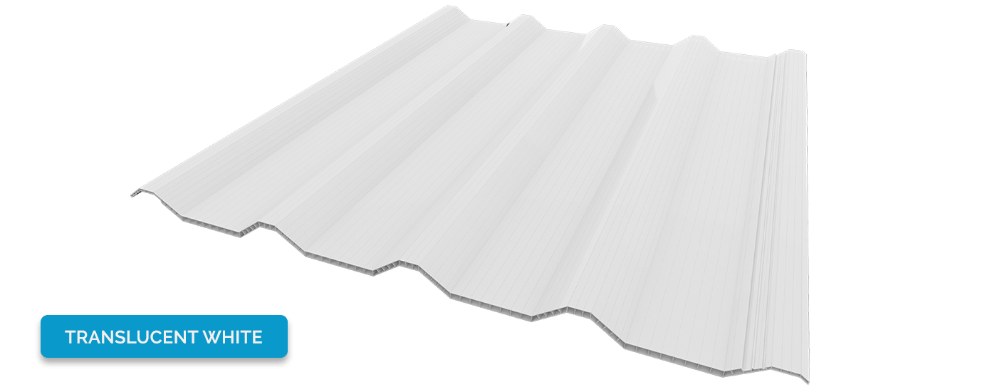 Alderon warna translucent white - putih bening