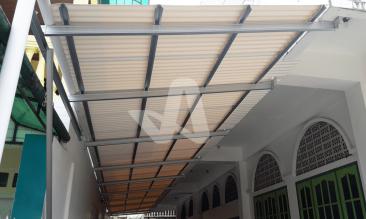 Alderon RS Proyek Aplikasi Residensial Atap Rumah