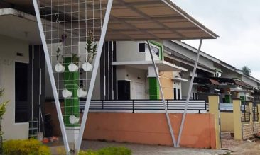 Aplikasi Alderon RS Atap Rumah Garasi Mobil