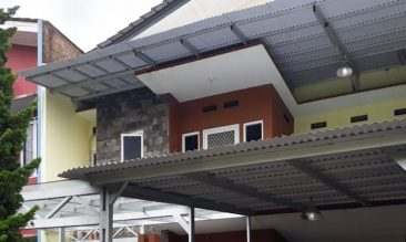 Aplikasi Alderon RS Atap Rumah Garasi Teras