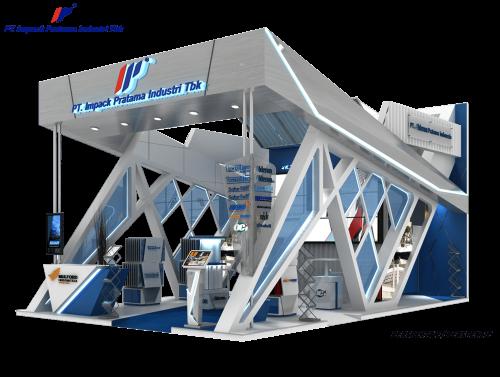 Booth Megabuild 2019 Impack Alderon JCC 14-17 Maret 2019