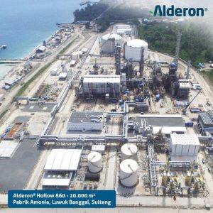 Pabrik Amonia menggunakan Alderon Twinwall