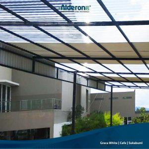 Alderon RS - Aplikasi Kanopi Rumah Kombinasi Alderon RS dan SolarTuff
