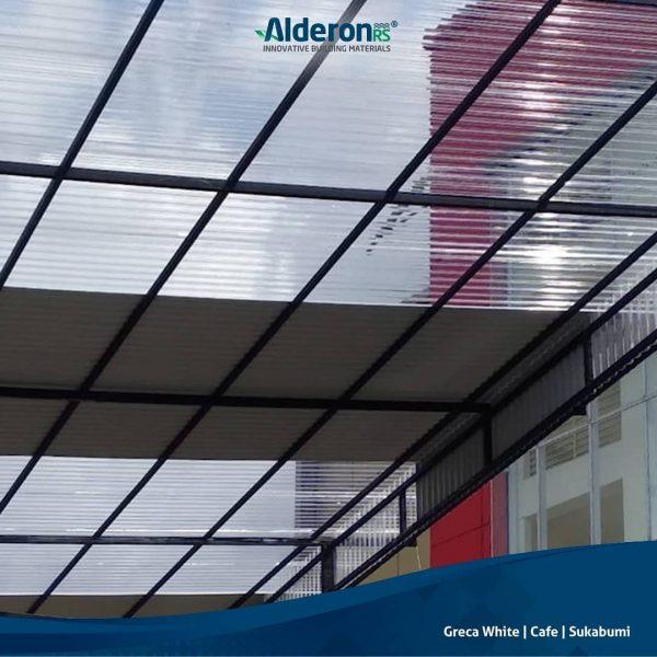 alderon rs kombinasi atap transparan solartuff