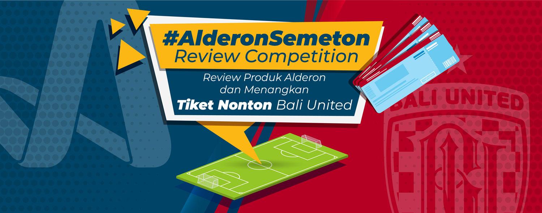 alderon semeton review competition hadiah tiket nonton bali united