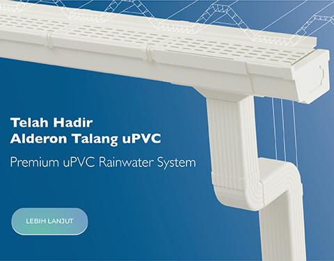 banner talang air pvc upvc alderon talang plastik filter talang