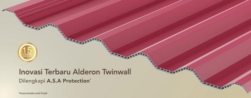 alderon twinwall asa protection warna merah