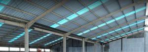 alderon twinwall blue atap kanopi translucent semi transparan bening pasar rakyat