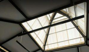 alderon twinwall white translucent upvc bening atap transparan murah