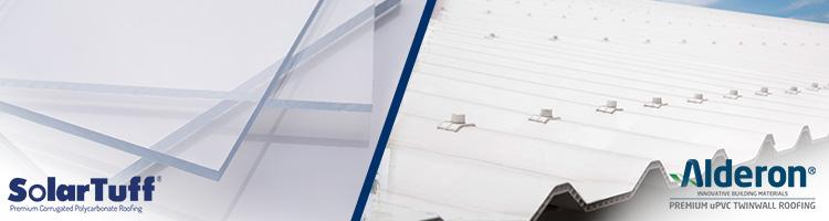 alderon vs polycarbonate solartuff atap transparan datar gelombang