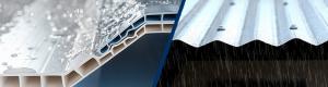 alderon vs spandek - alderon tidak bising ketika hujan
