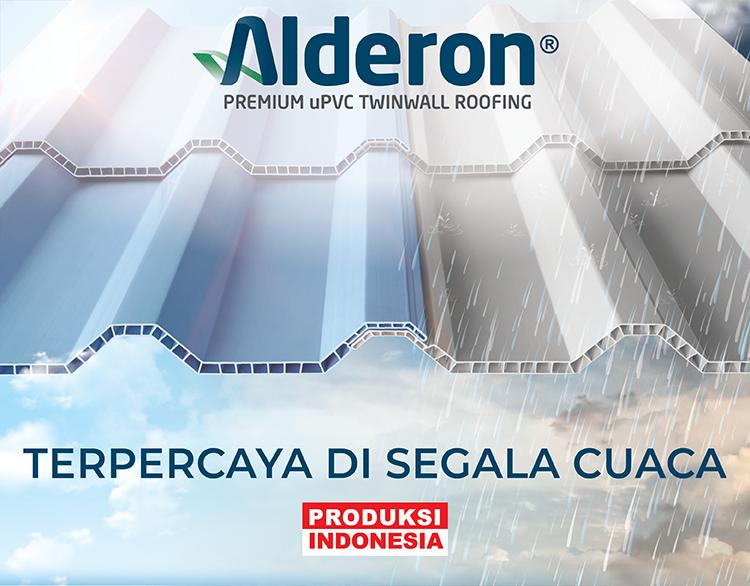 atap alderon twinwall terpercaya di segala cuaca produksi indonesia