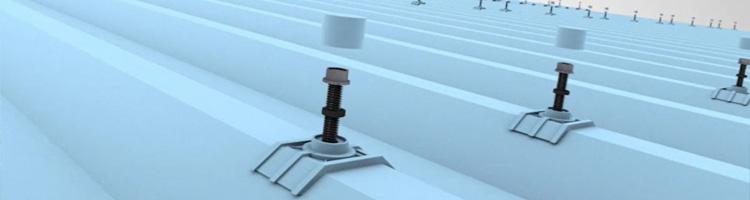 Pemasangan Atap Alderon menggunakan Sekrup Weather Seal