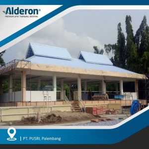 Desain Atap Rumah Limas Alderon Twinwall