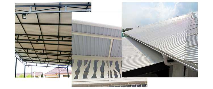 Inspirasi Alderon RS untuk Atap Rumah Kanopi