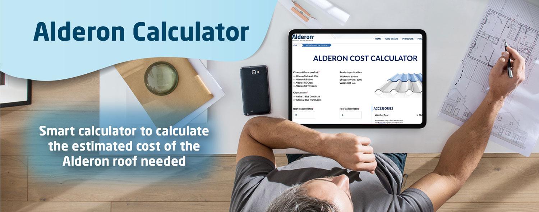 kalkulator alderon estimasi harga biaya