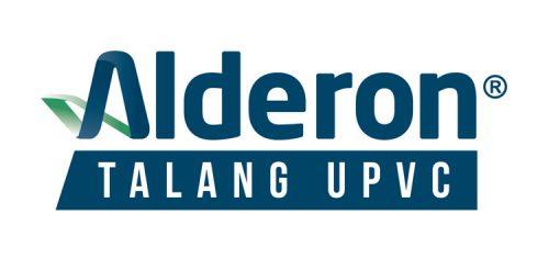 logo talang pvc upvc alderon