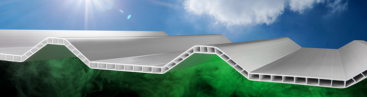 Atap uPVC Alderon Anti UV dan Bahan Kimia