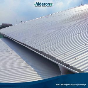 model atap rumah alderon rs roma white perumahan surabaya