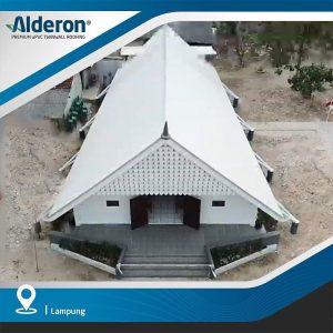 model atap rumah gereja alderon twinwall genteng plastik