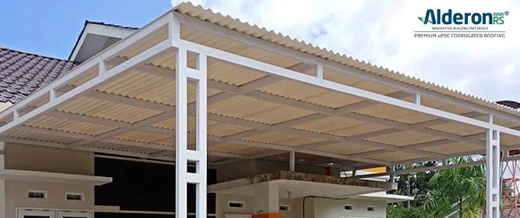 15 Model Atap Teras Rumah Minimalis Paling Sejuk Alderon
