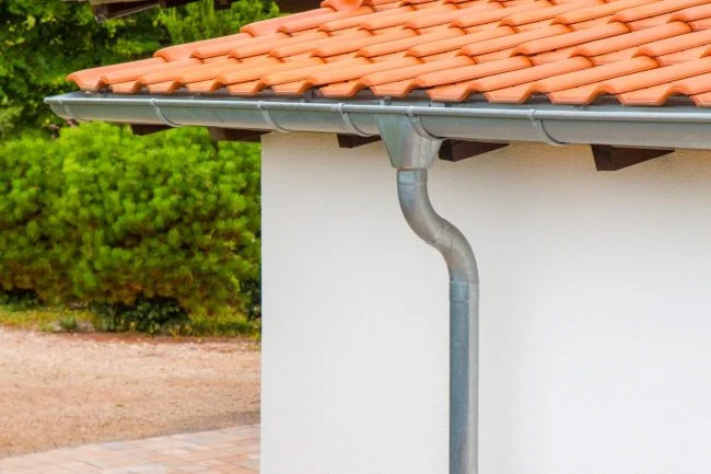 talang air aluminium seng metal logam