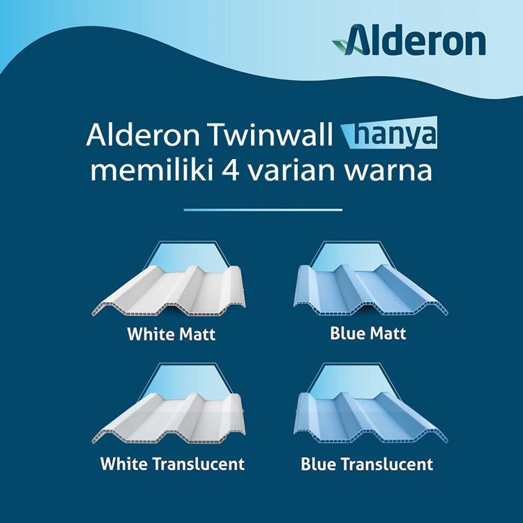 Alderon Twinwall hanya memiliki 4 varian warna
